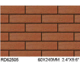 Argile Split Tile pour Exterior Wall Brick 60*240mm Rd62505