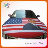 Tampa feita sob encomenda da capa do carro da tela elástica Eco-Friendly para a propaganda