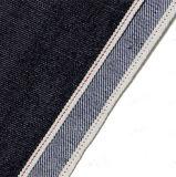 ткань мерсеризованная 12.4oz полиэфира сухая зальбанда джинсыов 1288-II
