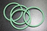 Selos do conetor da fonte da fábrica de Sillicone da resistência à ação dos agentes atmosféricos, anel-O de borracha verde