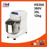 Электрическая спиральн машина выпечки оборудования гостиницы оборудования кухни машины еды оборудования доставки с обслуживанием BBQ оборудования хлебопекарни Ce смесителя (HS30A) 35L 360V
