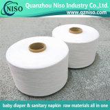 Filé de Spandex de polyester pour l'usage de couche-culotte de bébé