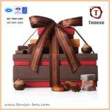 Nuevo diseño de regalos de chocolate colorida caja de embalaje