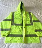 Куртка безопасности OEM отражательная предупреждающий