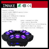 9X10W RGBW LED 이동하는 맨 위 광속 LED 거미 빛
