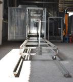 Линия покрытия порошка рельса автоматическая с газом тоннеля