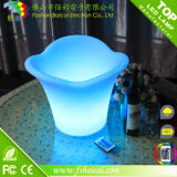 LED Plastic Bucket per Beer