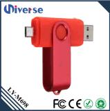 Mecanismo impulsor barato de alta velocidad del USB de la aduana OTG Pendrive 1GB 2GB 4GB 8GB 32GB 64GB 128GB para el teléfono móvil y el ordenador