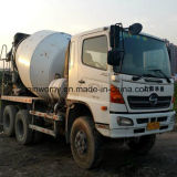 Paquistão-Needs Japão Original Hino-500 Cement Mixer Truck com 6cylinders-Diesel-Engine