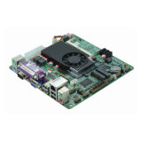 Intel® 1037u 소형 Itx에 의하여 끼워넣어지는 산업 어미판 6 COM, 8 USB, HDMI/VGA
