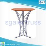 Table à cocktail en aluminium Table à barres Table basse à café