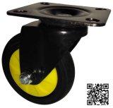 Schwarzes Color TPR Caster Wheel Spinning für Trolley (geräuschlos)
