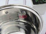 POT della minestra della doppia parte inferiore dell'acciaio inossidabile all'interno del coperchio (FT-1839)