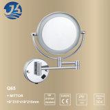 Miroir décoratif d'éclairage LED d'acier inoxydable de mur extensible de salle de bains (Q65)
