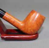 Stilvolle hölzerne Tabak-Zigaretten-preiswerte Hitzebeständigkeit, die Pipe&#160 raucht;