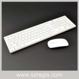 Touches multimédias Multi-language Layout Slim Wireless Laptop Mouse and Keyboard