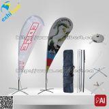 Indicateur extérieur de clavette de promotion ou indicateur ou mât de drapeau de plage à vendre