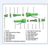 Traktor-Laufwerk-Zapfwellenantrieb-Übertragungs-Welle mit Keilen
