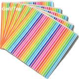 fabricante de papel de las servilletas de cena de los 25*25cm