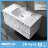 2側面の虚栄心のヨーロッパ式MDFの贅沢な現代浴室の家具(BF112N)