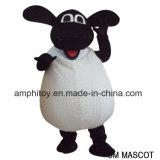 Shaun талисман Costumne шаржа овец