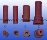 Resistenza a temperatura elevata che isola l'ugello di ceramica dell'allumina di 99%