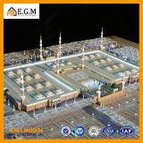 Модель общественного здания ABS высокого качества/модель здания/архитектурноакустическая модель делая/миниатюрная модель