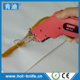 Горячий резец веревочки ножа