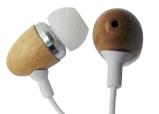 Neue Art-Bambuskopfhörer für Handy