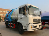 Dongfeng acarrea el carro del vacío M3 de la transmisión manual 10 del carro 4*2 de las aguas residuales