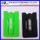 Porte-cartes multifonctionnel coloré de silicone pour le téléphone portable (EP-C8263.82933)