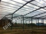 Almacén prefabricado de los marcos de acero del diseño industrial