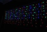 De Boom van de decoratie steekt LEIDENE van Kerstmis van de Ijskegel Lichten aan