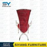 Стулы обеда стула стула банкета мебели гостиницы роскошные обедая красные