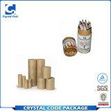 Freies Beispielpackpapier-verpackengefäß