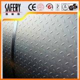 Plaque Checkered laminée à froid de l'acier inoxydable 304