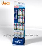 Stand d'exposition de papier d'étalage de carton d'étage pour le détail
