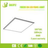 Großhandels-SMD2835 eingehangene LED Oberflächeninstrumententafel-Leuchte 48W 600*600 100lm/W mit Cer, TUV, SAA