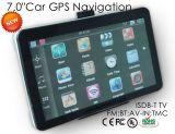 """"""" Sistema di percorso di GPS dell'automobile nuovi 7.0 con la cassa del metallo, sistema di percorso di GPS, precipitare GPS, ISDB-T TV, corteccia doppia A7 di memoria; 800MHz"""