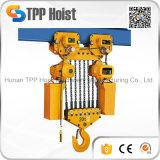 Hsy Hijstoestel van de Kraan van de Motor van de Keten van 2 Ton het Elektrische Opheffende voor Pakhuis
