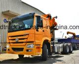 HOWO 트럭에 의하여 거치되는 기중기 8-12 톤