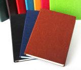 Cuaderno de cuero de la PU del diario de la PU del organizador de cuero del planificador para la promoción