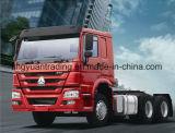 10 선택적인 기중기를 가진 바퀴 HOWO 트랙터 트럭