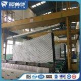 Perfiles de aluminio anodizados negro de la alta calidad del OEM para la cortina poste