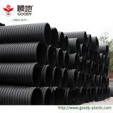 Zurückführbarer grosser Durchmesser hochfestes HDPE Höhlung-Wand-Wicklungs-Entwässerung-Rohr