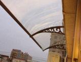 Paredes decorativas decorativas de toldo Rain Canopy para Balcony Wall (PC)