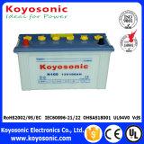 JISの標準乾燥した満たされた鉛の酸のカー・バッテリーN70zl 12V 75ah