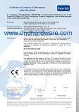 Trava de noite com Incêndio-Rated Certificated