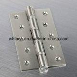 Aço inoxidável que carrega a dobradiça de extremidade de madeira do pivô (carcaça da precisão)