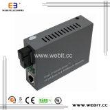 10/100 Base-Tx para 100 Base-Fx Media Converter com baixo consumo de energia